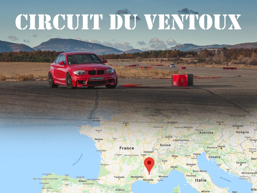 Encore une nouvelle piste : le circuit du Ventoux