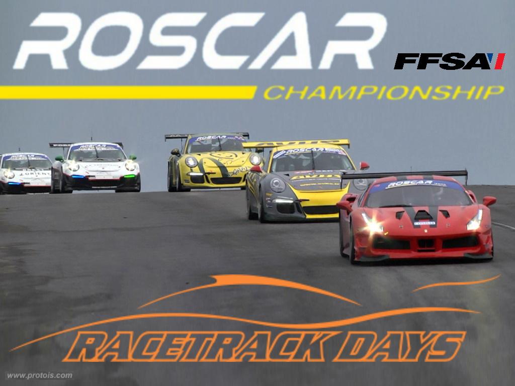Rapprochement entre le Club 911 IdF, le championnat ROSCAR et les Racetrack Days !!!